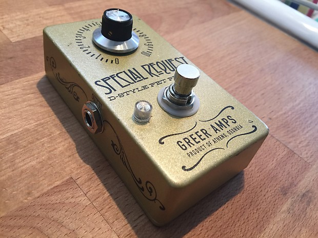 Greer Special Request Dumble Overdrive Boost FET PreAmp