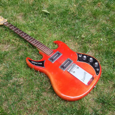 Baldwin  Baby Bison V Headstock Rare  1967  Orange for sale