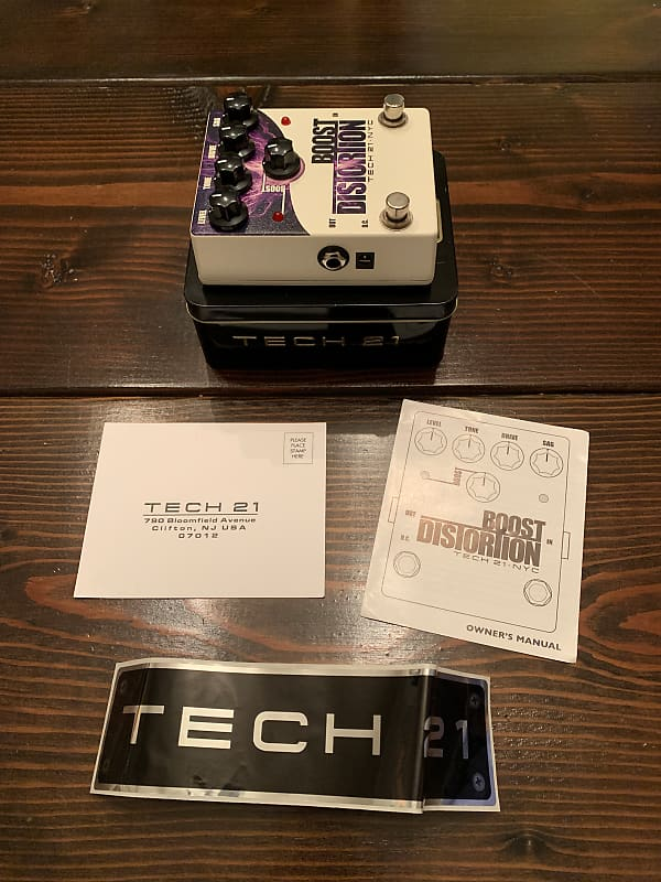tech 21 boost distortion pedal broker reverb. Black Bedroom Furniture Sets. Home Design Ideas