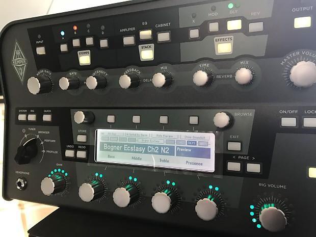 Kemper Profiler Power Head - 600-watt Profiling Head