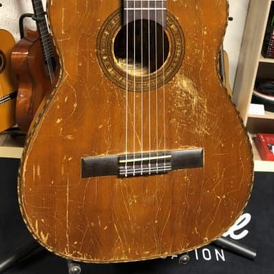 Très belle guitare du luthier Hopf modèle