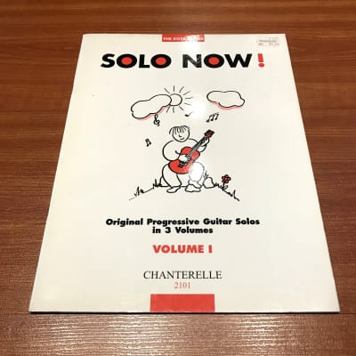 The EGTA Series Solo Now! Volume 1Music Book