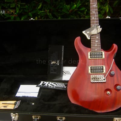 2005 Paul Reed Smith*PRS Standard 24 *20th Anniversary ♚ SATIN CHERRY♚WIDE FAT♚BIRDS ♚ 22 ♚ Custom for sale