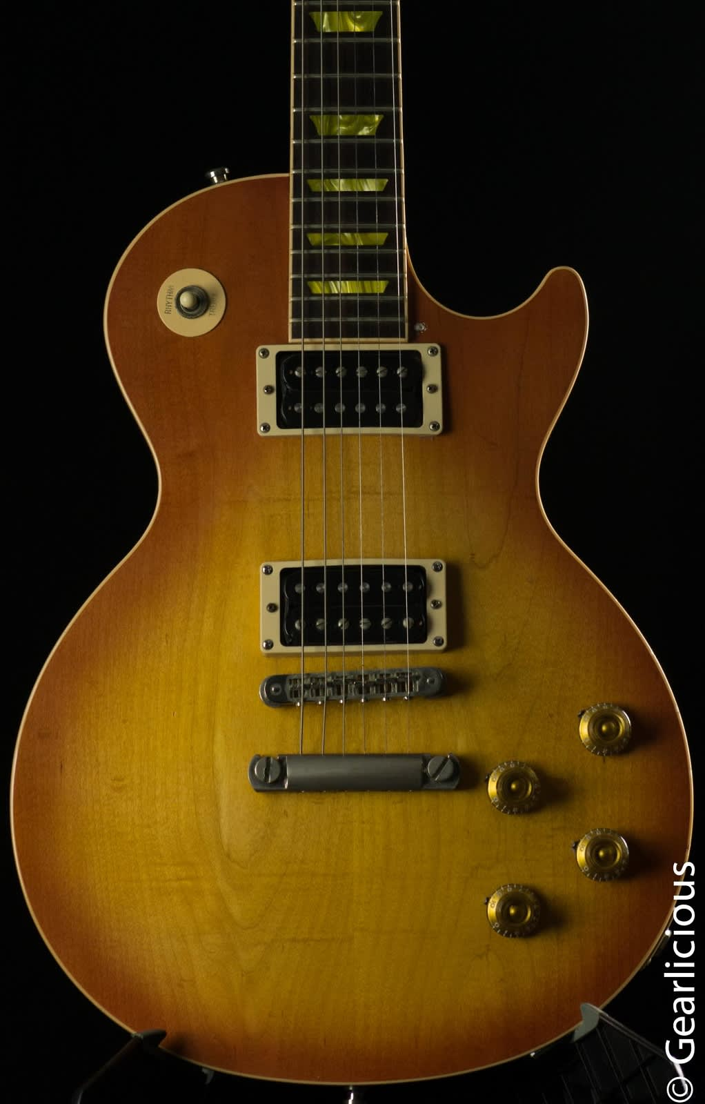 2005 Gibson Les Paul Classic 1960 Reissue Light Burst
