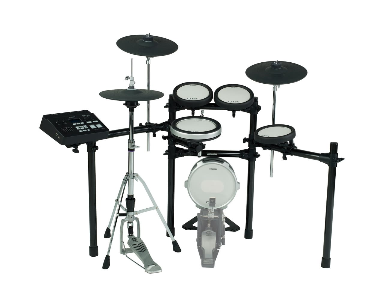 Yamaha dtx720k electronic drum set reverb for Yamaha electronic drum kit for sale