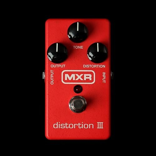 mxr m 115 distortion iii pedal the music zoo reverb. Black Bedroom Furniture Sets. Home Design Ideas