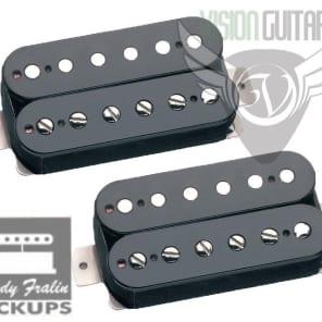 Lindy Fralin PURE P.A.F. HUMBUCKER Pickup Gibson Set - Black Bobbins
