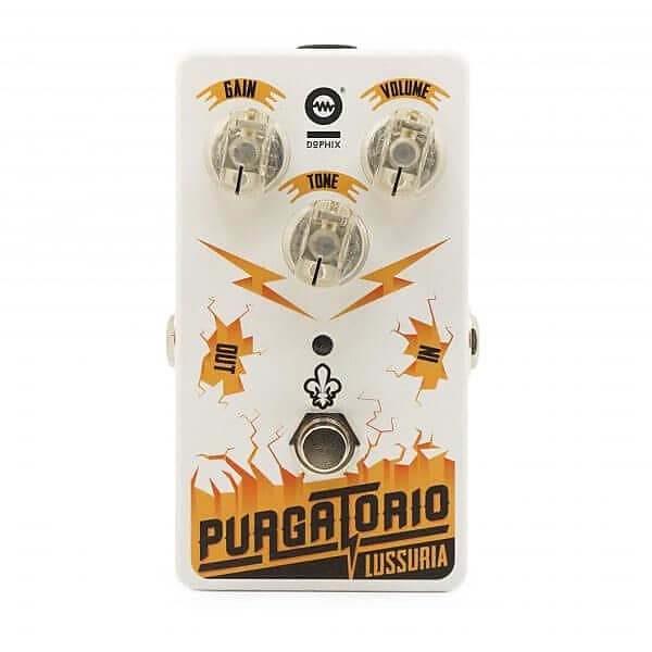 Dophix - Purgatorio Overdrive - Pedal FREE SHIPPING!! image