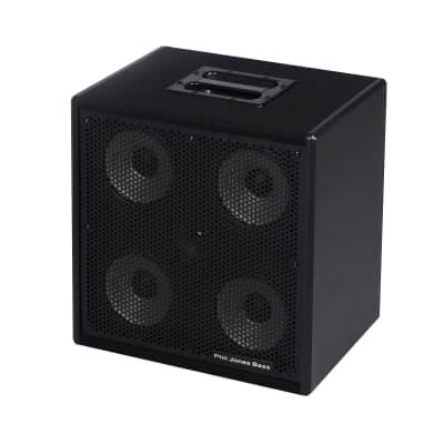 "Phil Jones Bass CAB-47 300W 4 x 7"" plus 3"" Tweeter 8 Ohm Bass Cabinet"