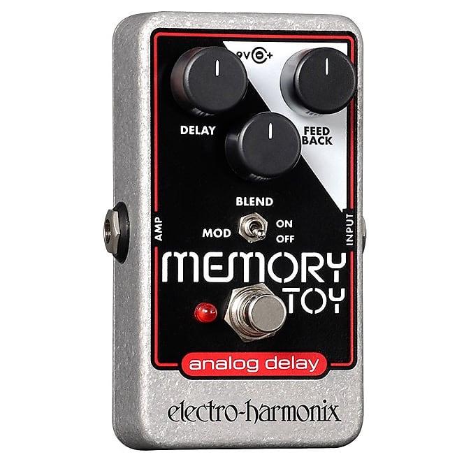 Electro-Harmonix EHX Memory Toy Analog Delay / Modulation Effects Pedal