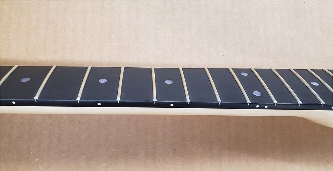 WD Music UPGRADED Fender Licensed Telecaster Maple Neck with Ebony Fretboard