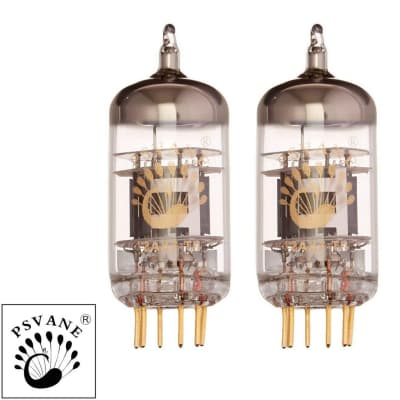 New Gain Matched Pair (2) Psvane 12AX7-T MKII Mark II Vacuum Tubes Ships from US