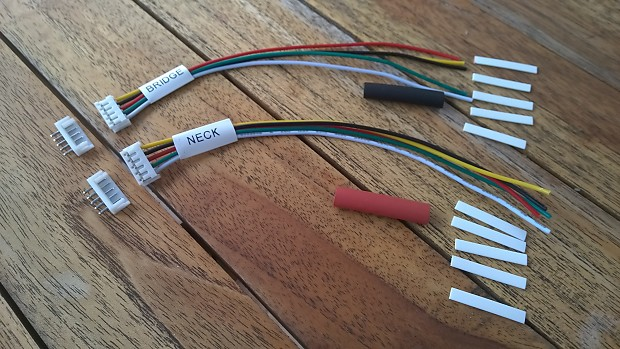 Peachy 2 Quick Connect Adapters For Epiphone Guitar 5 Wire Pickup Reverb Wiring Cloud Intapioscosaoduqqnet