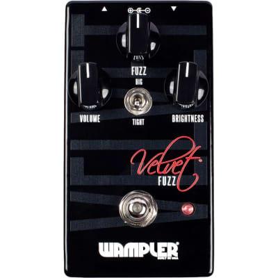 Wampler Velvet Fuzz Pedal for sale