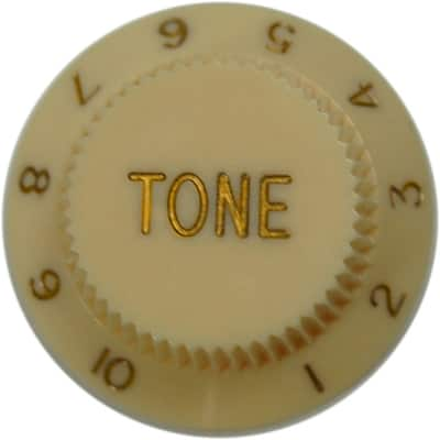 Fender Strat Tone Knob (Cream)