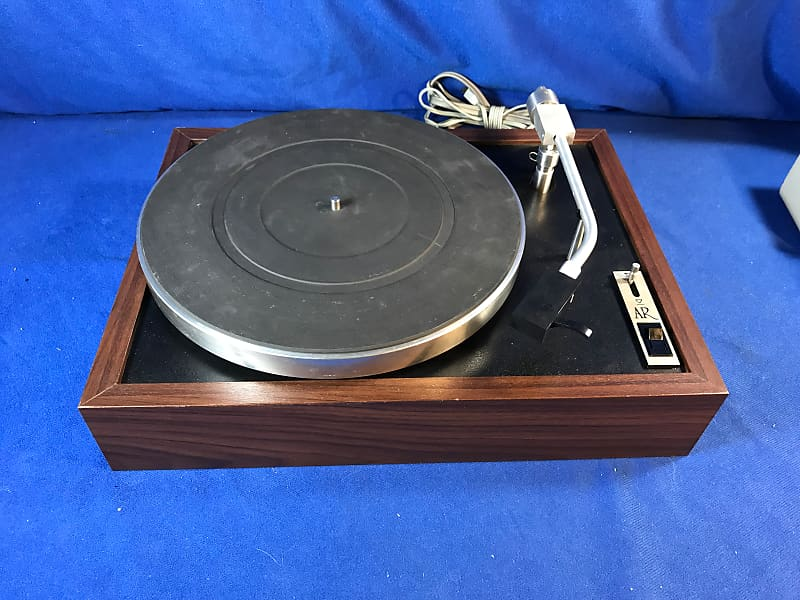Acoustic Research XB Turntable 1970's Walnut with Stanton Cartridge