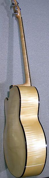 kls 4 string fretless acoustic bass guitar gear bazaar reverb. Black Bedroom Furniture Sets. Home Design Ideas