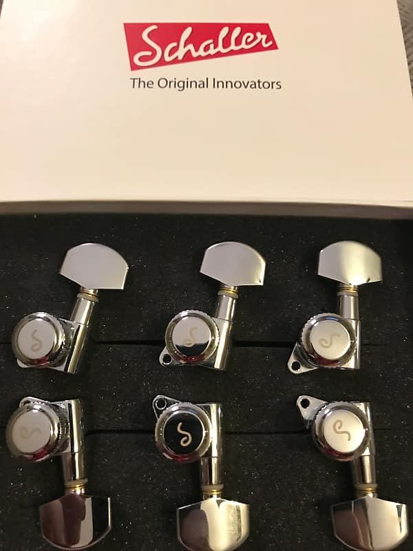 Schaller Locking Tuning Machine Heads 3-per-side Chrome (Fits PRS SE)
