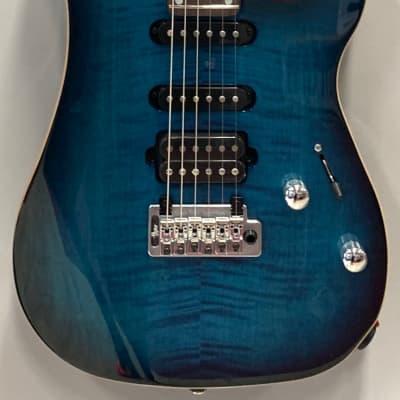 Vigier Excalibur Ultra Blues HSS TREM Mysterious Blue for sale