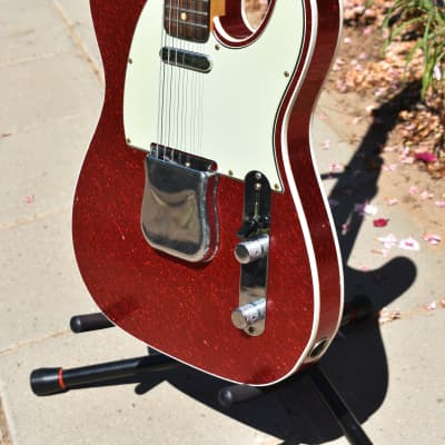Fender Telecaster Custom Shop '60 Journeyman Relic 2019 Red Sparkle for sale