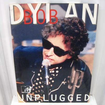 Bob Dylan MTV Unplugged Sheet Music Song Book Songbook Piano Vocal Guitar