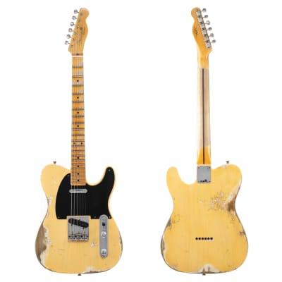 Fender Custom Shop '52 Telecaster Heavy Relic, Lark Custom - Nocaster Blonde (851) for sale