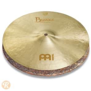 """Meinl 14"""" Byzance Jazz Extra Thin Hi-Hat (Pair)"""