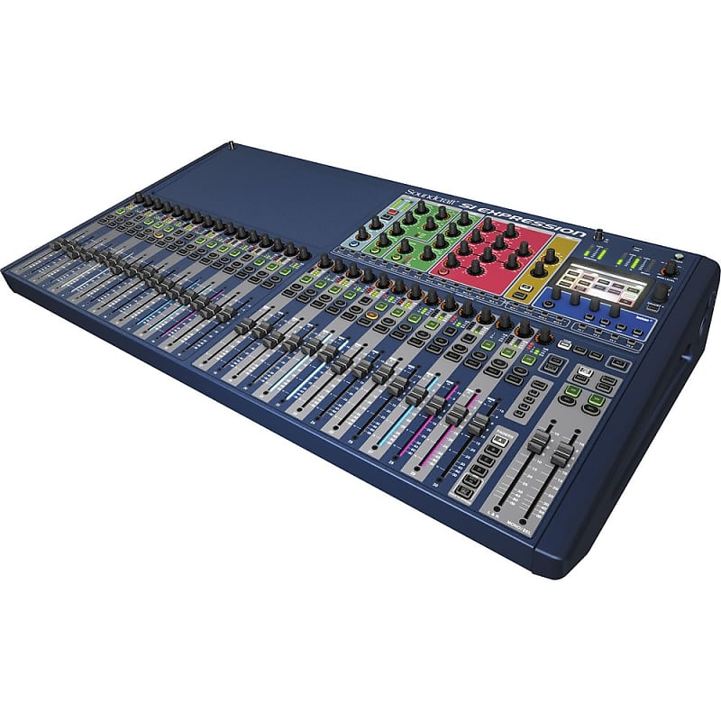 soundcraft si expression 3 digital mixer estudiostar reverb. Black Bedroom Furniture Sets. Home Design Ideas