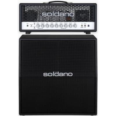 Soldano SLO-100 Super Lead Overdrive All-Tube Guitar Amp Head w/ 4x12 Slant Cab