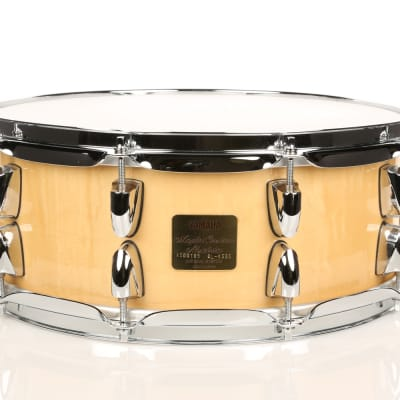 Yamaha Maple Custom Absolute 5.5x14 Natural Lacquer - Used