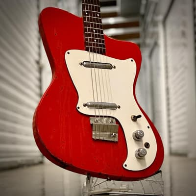 Danelectro Hawk 1960s Red for sale