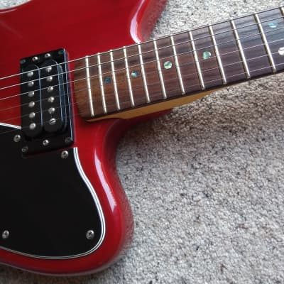 Fender USA Deluxe Toronado 2002 Crimson Transparent for sale