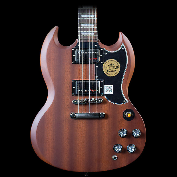 Epiphone G 400 Electric Guitar Faded Worn Brown Reverb