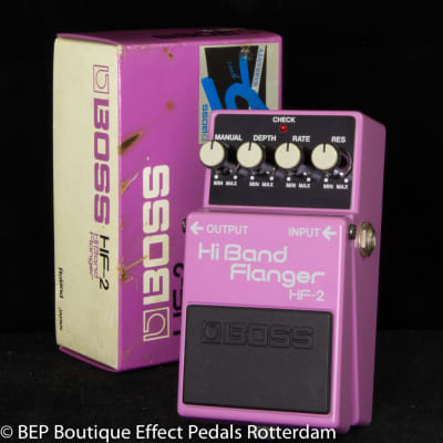Boss HF-2 Hi Band Flanger 1988 s/n 861098 Japan