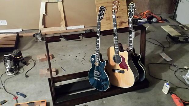 custom multi guitar stand made to order reverb. Black Bedroom Furniture Sets. Home Design Ideas