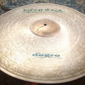 "Istanbul Mehmet 22"" El Negro Signature Light Ride Cymbal"