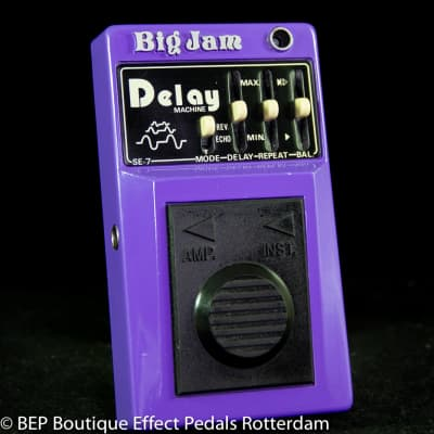 Multivox Big Jam SE-7 Delay Machine late 70's s/n 02210 Japan for sale