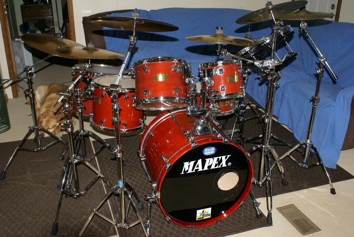 mapex saturn pro series complete drum kit steven 39 s gear reverb. Black Bedroom Furniture Sets. Home Design Ideas