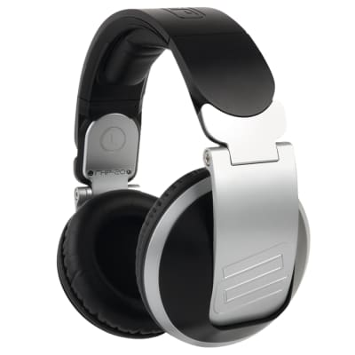 Reloop RHP-20 Professional Over-Ear Foldable Comfortable DJ Headphones Silver