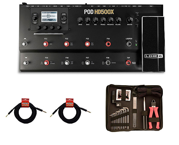 line 6 pod hd500x guitar multi effects processor strukture reverb. Black Bedroom Furniture Sets. Home Design Ideas