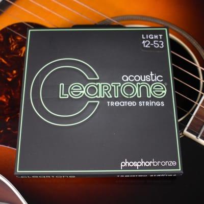 Cleartone Light Phosphor Bronze Treated Acoustic Strings .012-.053