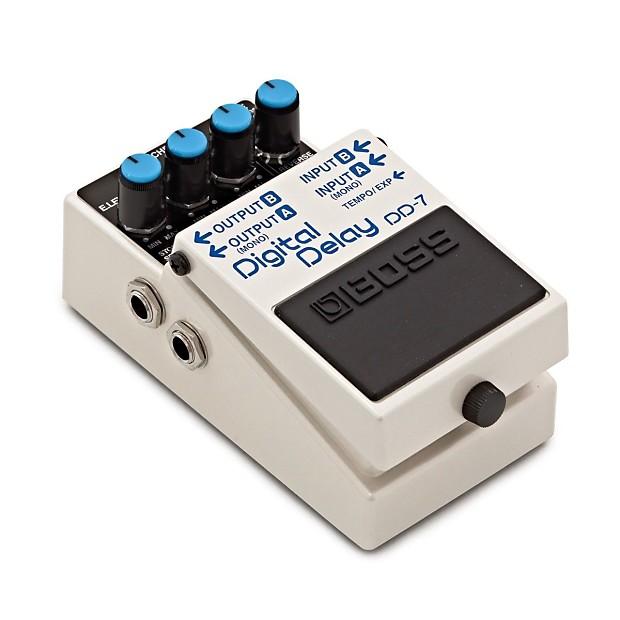 boss dd 7 digital delay pedal aj music reverb. Black Bedroom Furniture Sets. Home Design Ideas