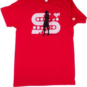 Seymour Duncan Killing Floor T-Shirt, Short Sleeve, Large, Red