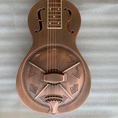 Aiersi guitare resonateur parlor vintage 2020 bronze for sale