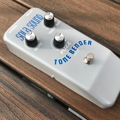 Sola Sound  Tone Bender MKIV 2013 Silver/Blue for sale