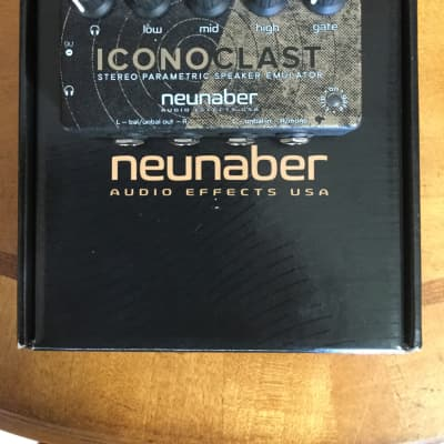 neunaber audio effects iconoclast speaker emulator