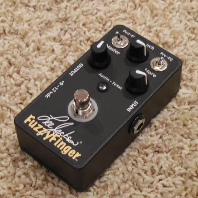 Lee Jackson Fuzzy Finger germanium fuzz pedal image