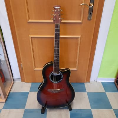Faster  FT-124 CU/WRS Ovation style Guitar