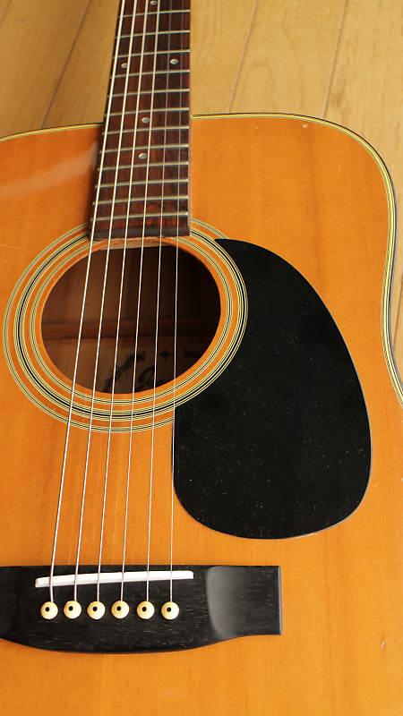 Jagard (Terada) JD-150 dreadnought style singer / songwriter Acoustic guitar c.1975 Honey brown image