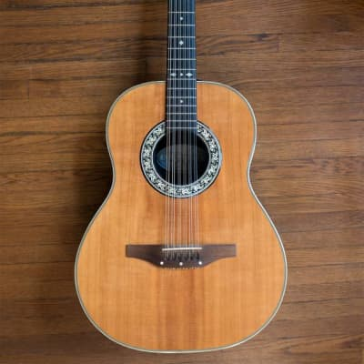 '79 Ovation USA Pacemaker 1115 XII 12-String Acoustic Guitar Amber Natural Spruce w/ HSC Made in USA for sale
